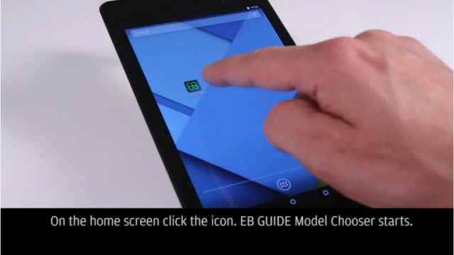 How to enable EB GUIDE 6 on an Android device