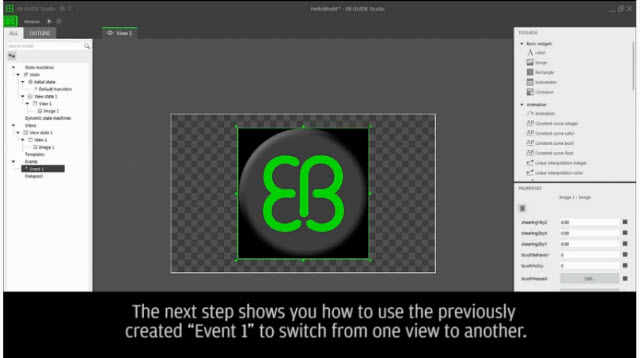 How to create your first EB GUIDE model using EB GUIDE Studio 6