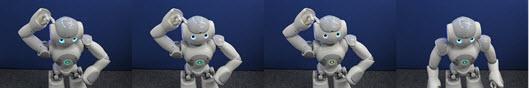 Robot returns to rest motion