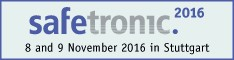 Meet Our Safety and Security Experts at safetronic.2016, Stuttgart, Germany