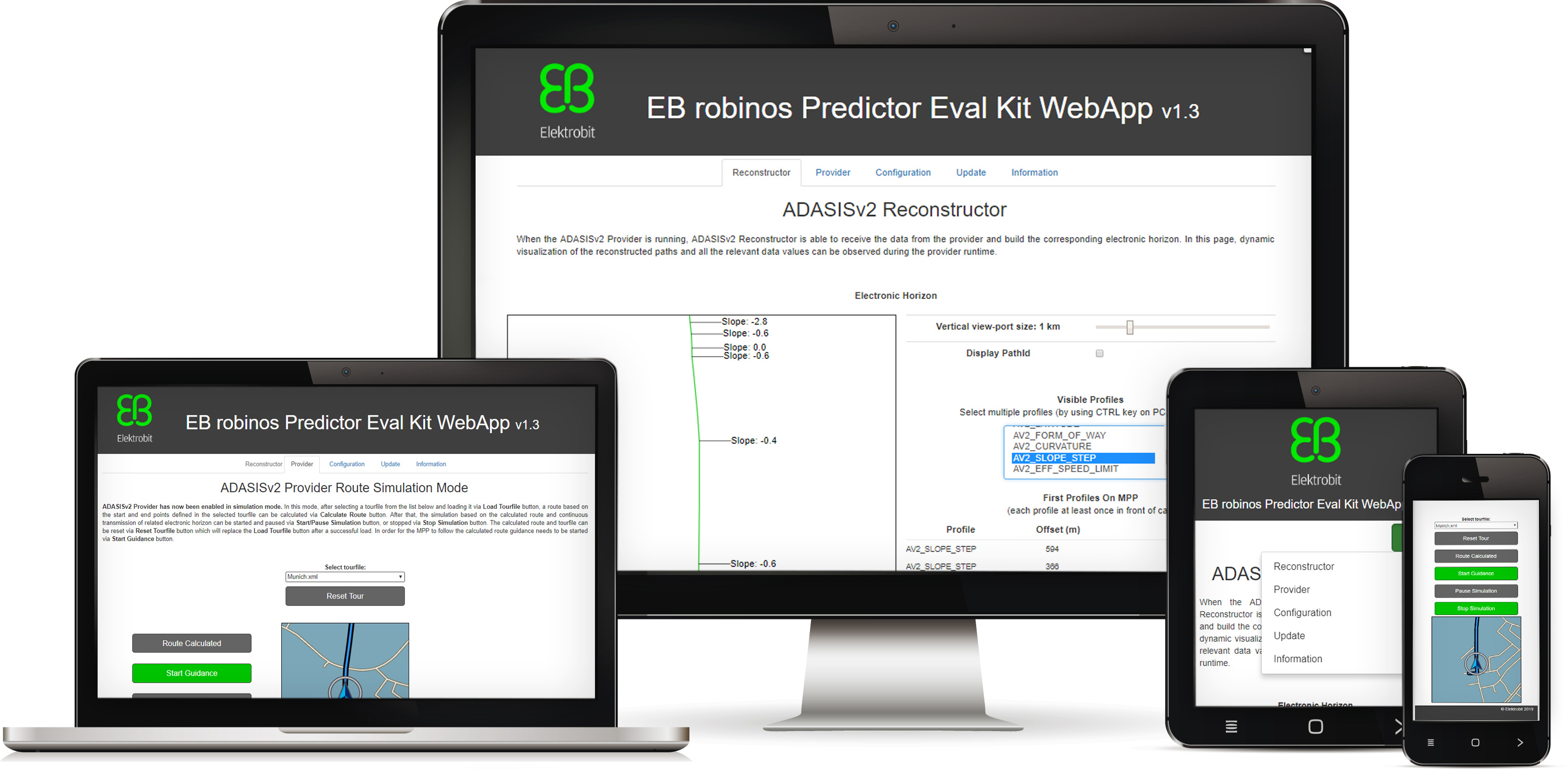 EB robinos Predictor Eval Kit - Elektrobit