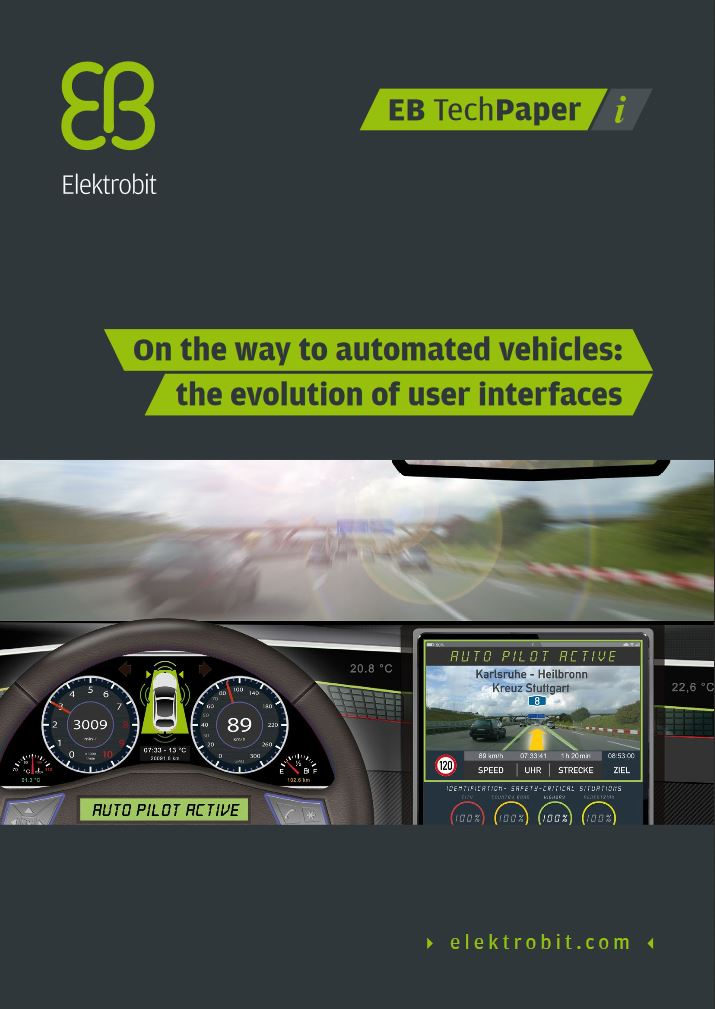 HMIs for automated vehicles