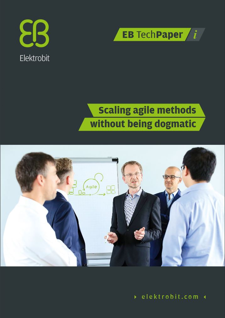 Scaling agile methods without being dogmatic