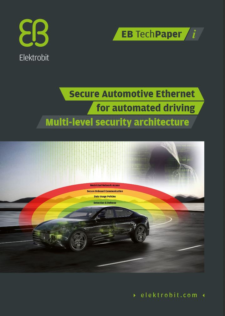 Secure automotive Ethernet for automated driving