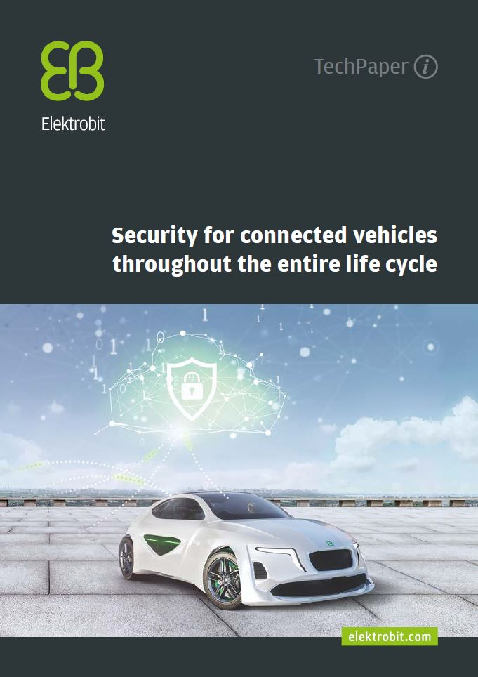 Security for connected vehicles throughout the entire life cycle