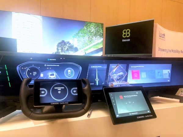 Car HMI Android-based demonstrator