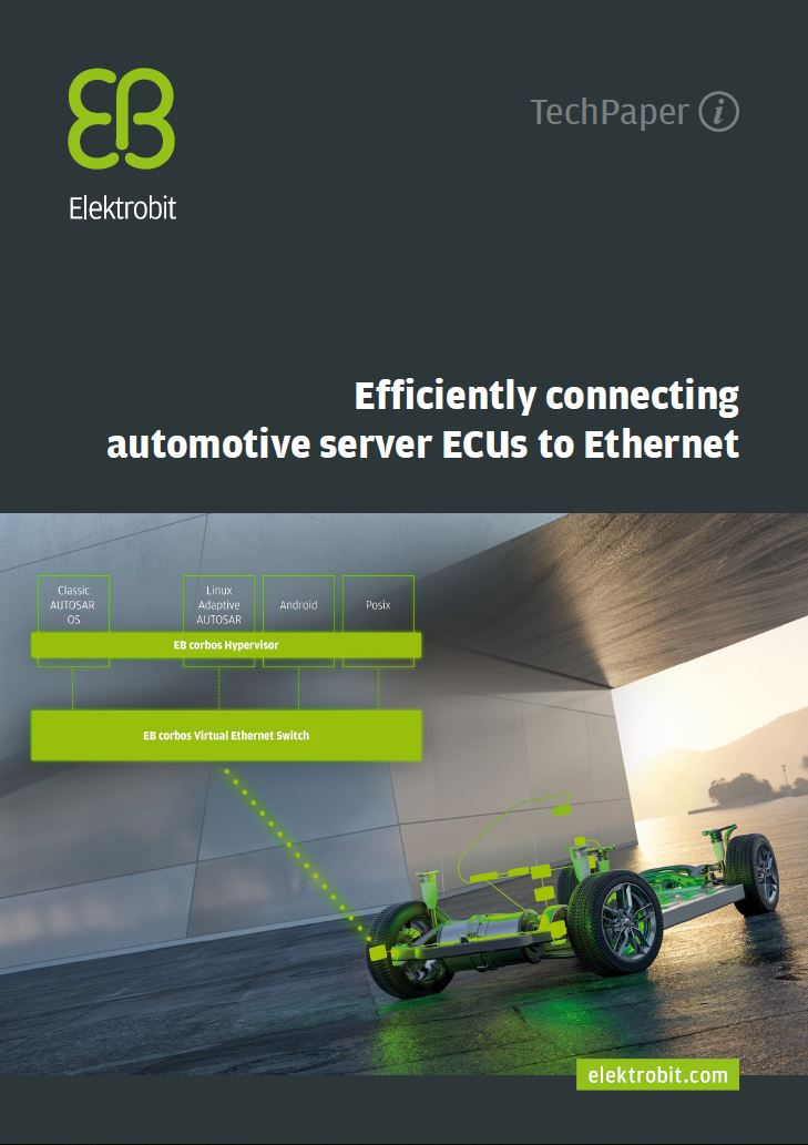 Efficiently connecting automotive server-ECUs to Ethernet