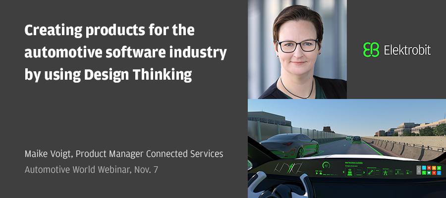 automotive software Design Thinking
