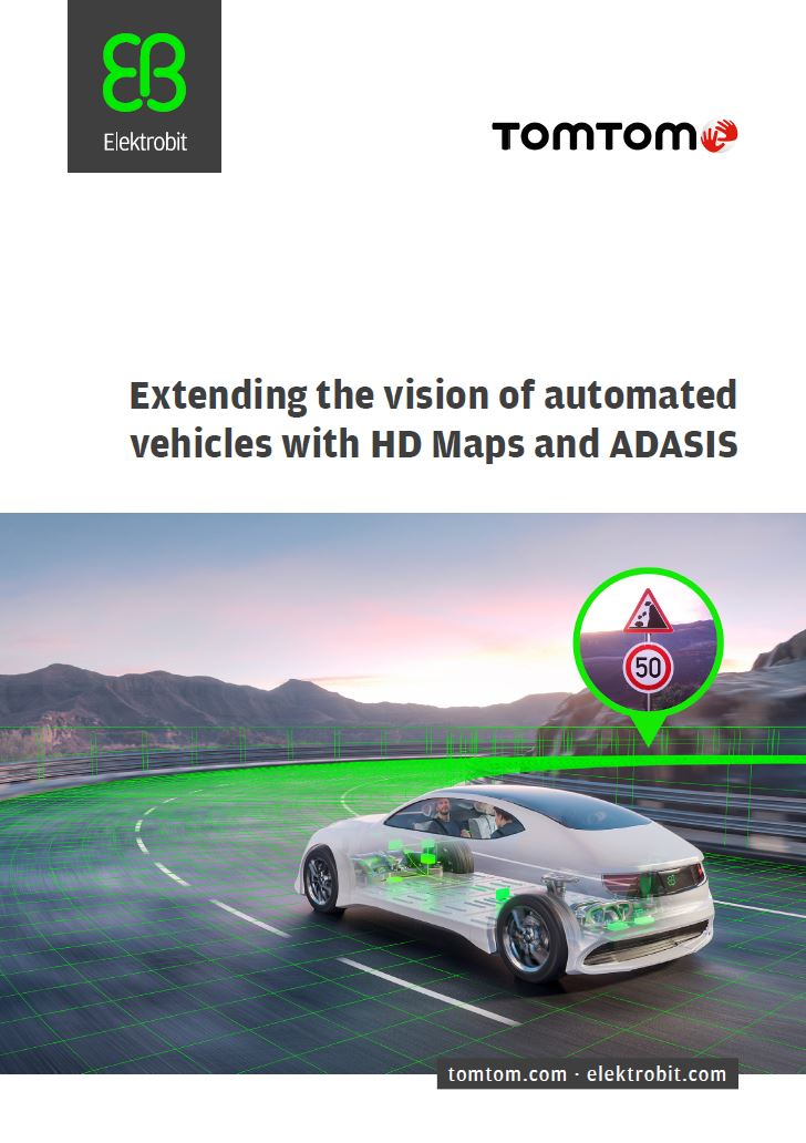 Extending the vision of automated vehicles with HD Maps and ADASIS