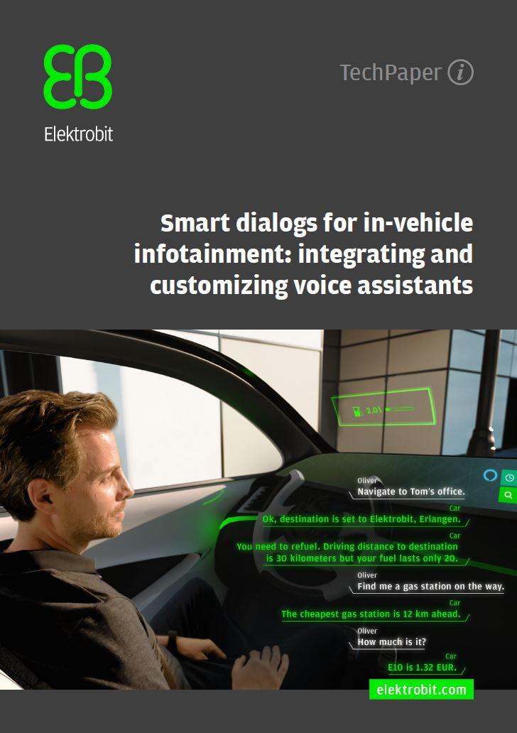 Smart dialogs for in-vehicle infotainment: integrating and customizing voice assistants